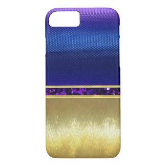 Hübscher lila Schein-Goldentwurf iPhone Kasten iPhone 8/7 Hülle