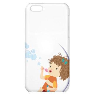 Hübscher Mädchen-Speck-Kasten iPhone 5C Cover