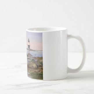 Hübscher Orient-Punktleuchtturm Tasse