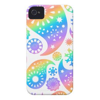 Hübscher Paisley-Entwurf iPhone 4 Cover