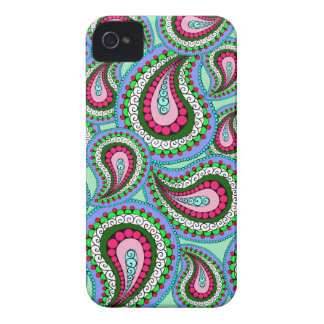 Hübscher Paisley-Telefon-Kasten iPhone 4 Cover