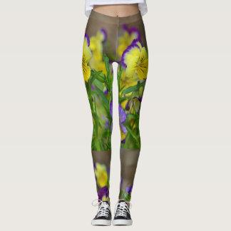 Hübscher Pansy Leggings