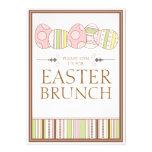 Hübscher Pastell verzieren Osternbrunch-Einladung