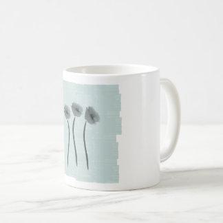 Hübscher Pastellewatercolor-BlumenTasse Kaffeetasse