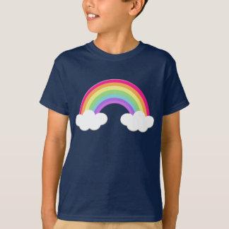 Hübscher Regenbogen scherzt T-Shirt