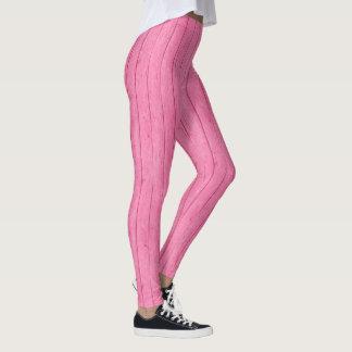 Hübscher rosa Brett-Druck-weibliche Gamaschen Leggings