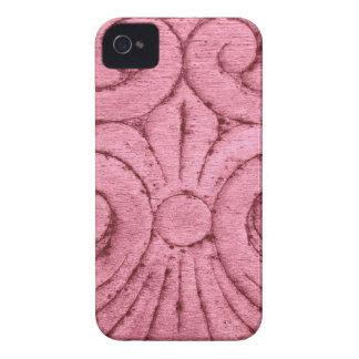 Hübscher rosa Lilien-Muster-Entwurf iPhone 4 Hülle