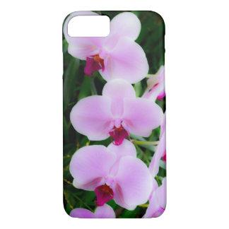 Hübscher rosa Orchideen-Fotografie iPhone Fall iPhone 8/7 Hülle