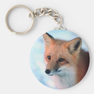 Hübscher roter Fox Schlüsselanhänger