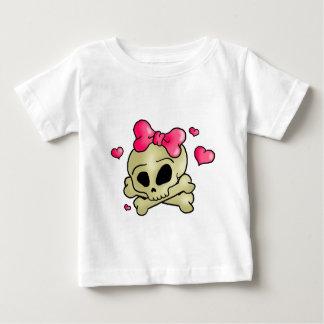 Hübscher Schädel Baby T-shirt