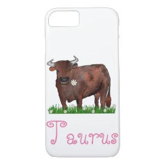 Hübscher Stier Stier und iPhone 8/7 Hülle