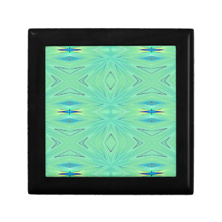 Hübscher tadelloser grüner Aqua-Pastell-Frühling Erinnerungskiste