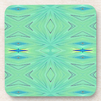Hübscher tadelloser grüner Aqua-Pastell-Frühling Untersetzer
