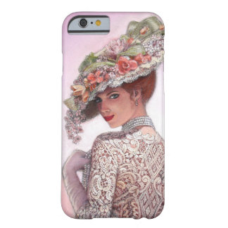 Hübscher viktorianischer Mode-Mädchen iPhone 6 Barely There iPhone 6 Hülle