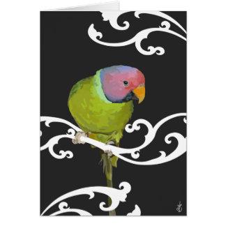 Hübscher Vogel Karte