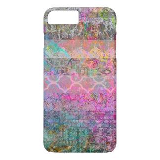 Hübscher Watercolorböhmischer abstrakter Grunge iPhone 8 Plus/7 Plus Hülle