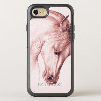 Hübsches andalusisches Pferd OtterBox Symmetry iPhone 8/7 Hülle
