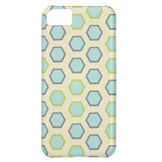 Hübsches blaues und Limones grünes iPhone 5C Hülle
