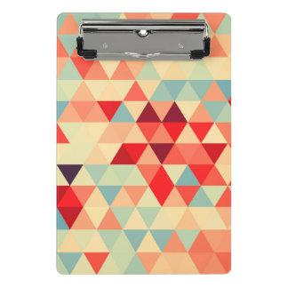 Hübsches Dreieckmuster II + Ihre Ideen Mini Klemmbrett