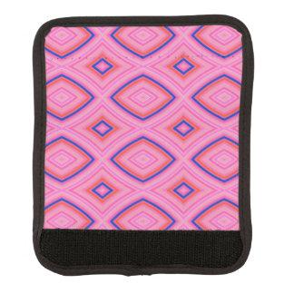 Hübsches geometrisches in größtenteils rosa koffergriffwickel