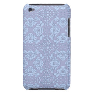 Hübsches, Girly, Blumenmuster - hellblau, lila Case-Mate iPod Touch Hülle
