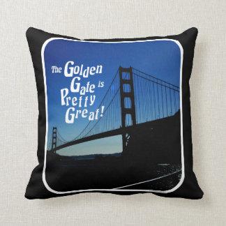 Hübsches großes Golden Gate Brücke Kissen