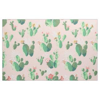 Hübsches Kaktus-Druck-Gewebe Stoff