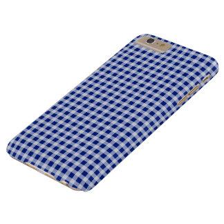 Hübsches königliches Blau-und Barely There iPhone 6 Plus Hülle