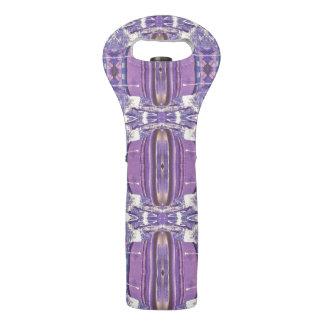 Hübsches Lavendel-Muster Weintasche