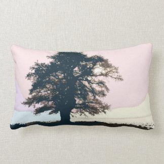 Hübsches Pastellbaum-Kunst-Kissen Lendenkissen