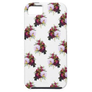 Hübsches Pfingstrosen-Muster Etui Fürs iPhone 5