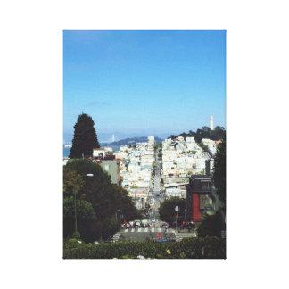 Hübsches San Francisco Bild Leinwanddruck