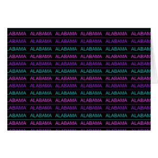 Hübsches Tri Farbiges Alabama Karte