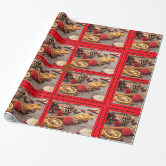 Hübsches Weihnachtspotpourri-Verpackungs-Papier Geschenkpapier