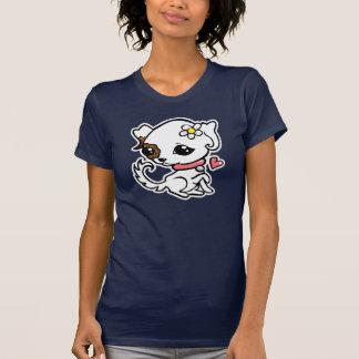 Hübsches Welpe Jack-Russell-T-Stück T-Shirt