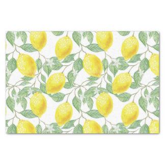 Hübsches Zitronen-Muster-Gewebe/Handwerks-Papier Seidenpapier