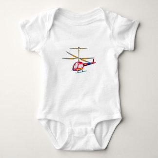 Hubschrauber Babybody