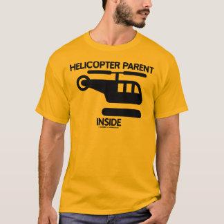 Hubschrauber-Elternteil-Innere (Zeichen) T-Shirt