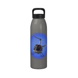 Hubschrauber-Flaschen-coole Wasserflaschen