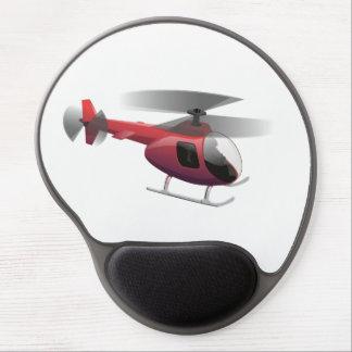 Hubschrauber Gel Mousepad