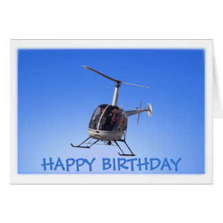 Hubschrauber-Karten-Fliegen-Chopper-Gruß-Karten Karte