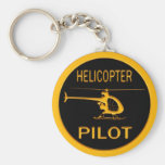 Hubschrauber-Pilot Schlüsselanhänger
