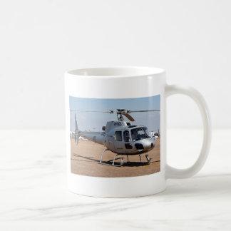 Hubschrauber (Silber) Kaffeetasse