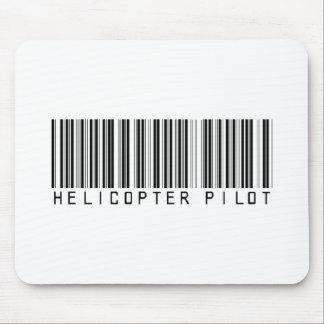 Hubschrauber-VersuchsBar-Code Mousepad