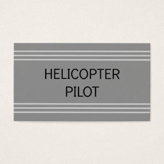 Hubschrauber-VersuchsVisitenkarte Visitenkarte