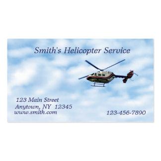 Hubschrauber-Visitenkarte Visitenkarten