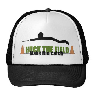 Huck das Feld, machen den Fang Retromützen