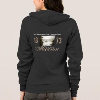 Hudson-Athen Leuchtturm-Fleece-ZipHoodie Hoodie
