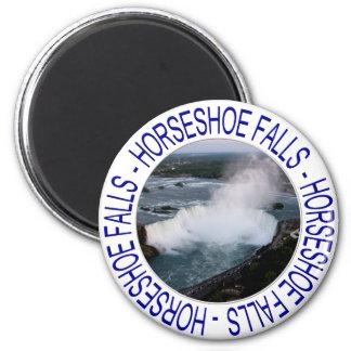 Hufeisen-Fälle - Niagara Falls, Kanada Runder Magnet 5,7 Cm