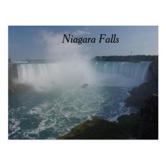 Hufeisen fällt in Niagara Falls Postkarte